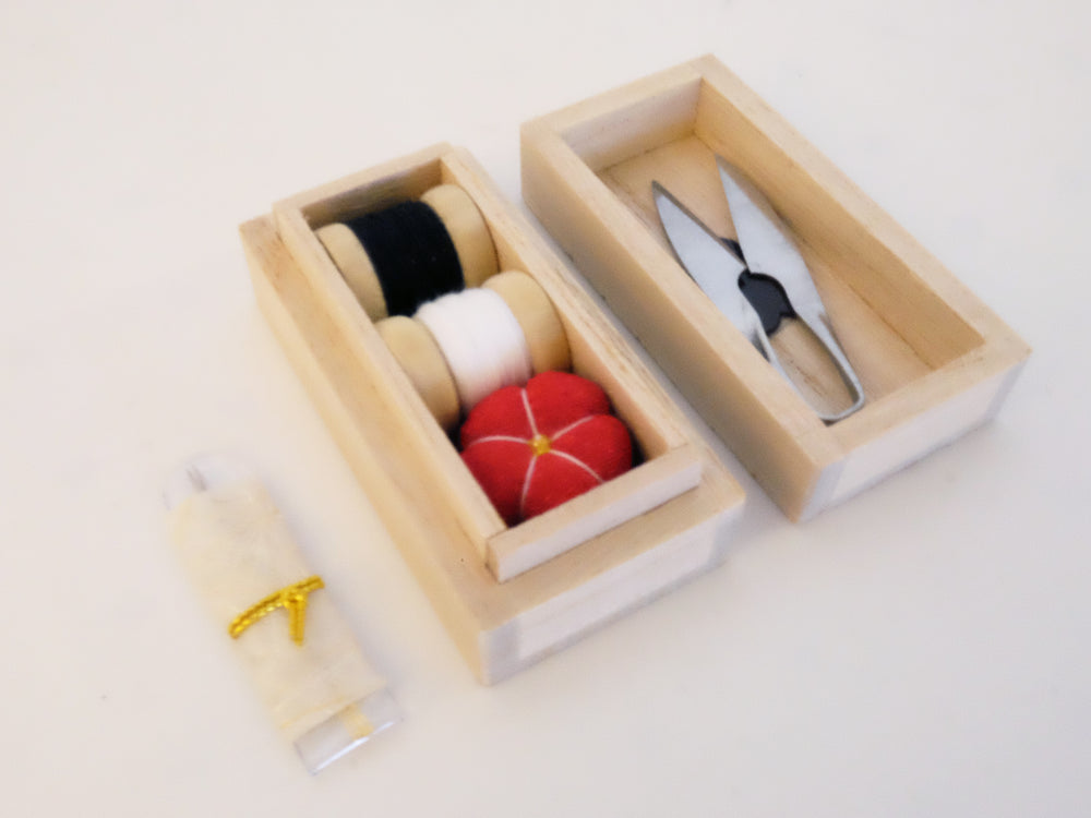 Hiro Small Sewing Box