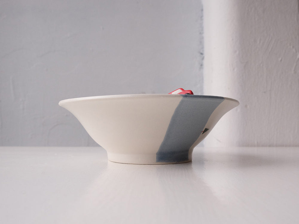 Load image into Gallery viewer, Road Design Bowl by Akiko Ozutsumi