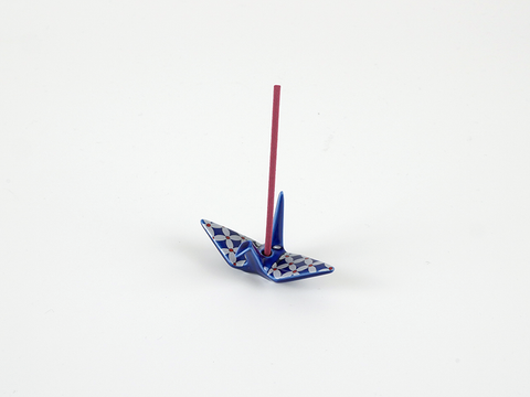 Kosaido Incence Holder: Orizuru (Crane)