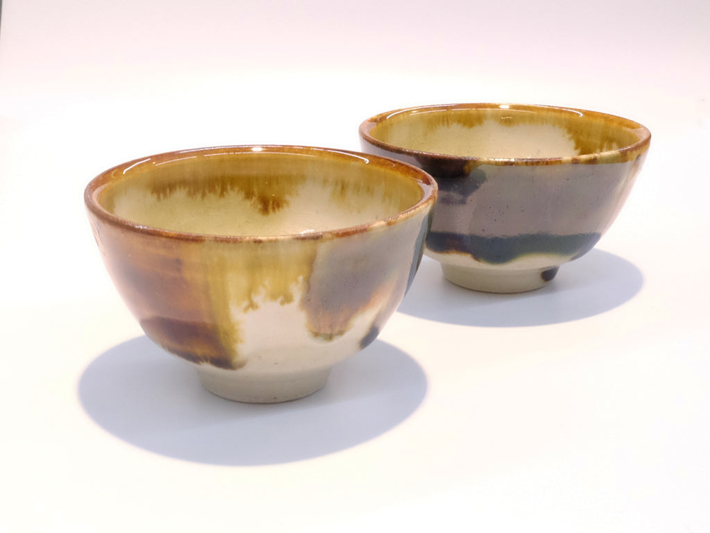 Patchwork Pattern Tea Cups by Aya Kondo