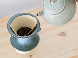 Kumidashi, Coffee dripper and Tea pot