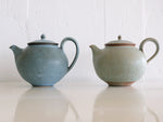 Teapot Blue and Green