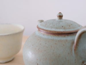 Kumidashi and Teapot Green