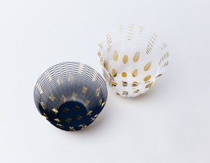 Air Vase Metallic series by Torafu Architects - GOLD PATTERN 1
