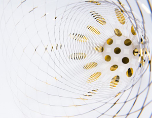Load image into Gallery viewer, Air Vase Metallic series by Torafu Architects - GOLD PATTERN 1