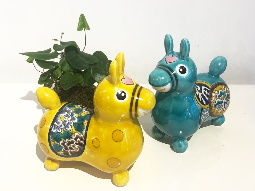Load image into Gallery viewer, Kutani-ware Ceramic Rody Horse