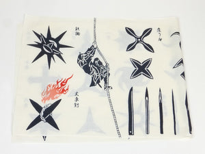 Load image into Gallery viewer, Tokyo Tenugui Edo Collection: Ninja Dart