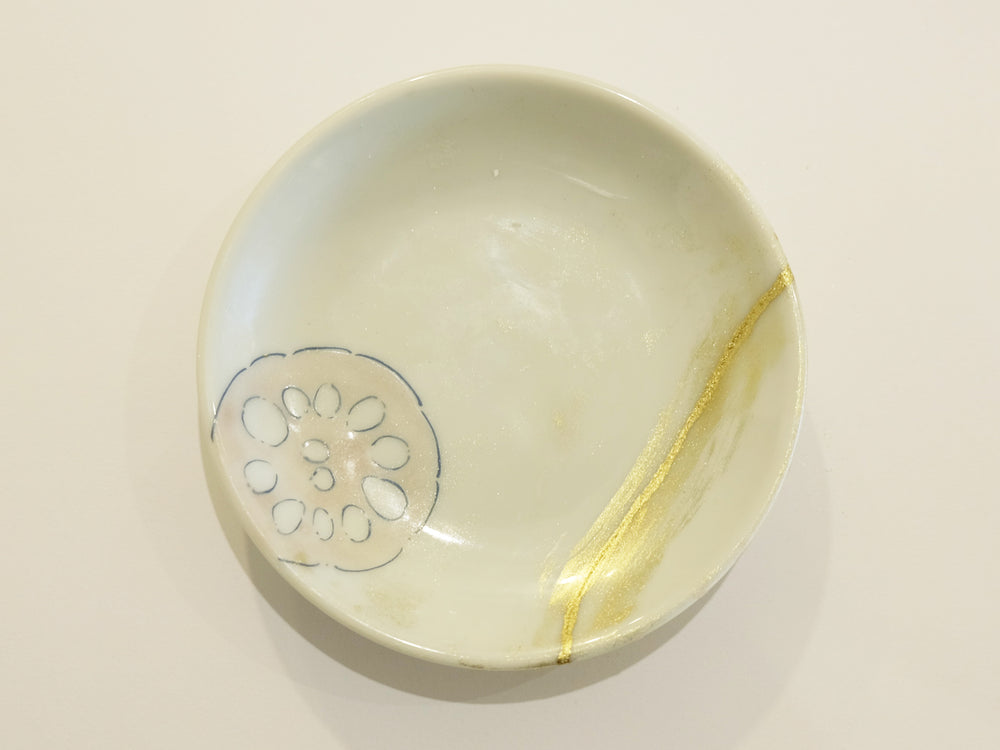 Lotusu Root with Kintsugi
