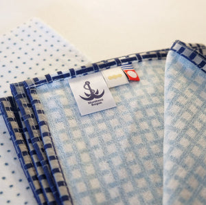 Load image into Gallery viewer, Murakami Suigun Tenugui Towel by Maruei Towel: Mame shibori