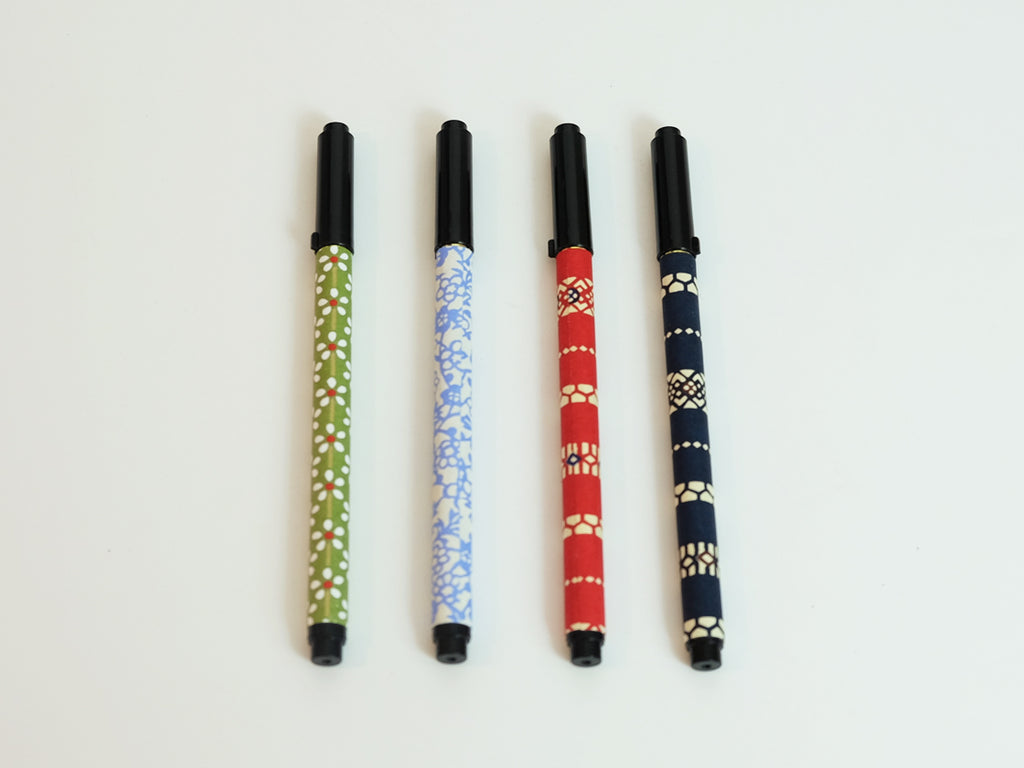 Calligraphy Pen ( Green, Blue, Red and Dark Navy)