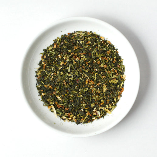 Load image into Gallery viewer, Chanomi Green Tea with Yuzu Citrus Peel