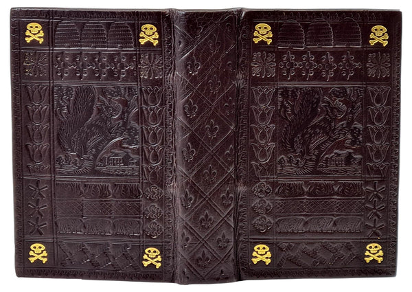 leather properly made book