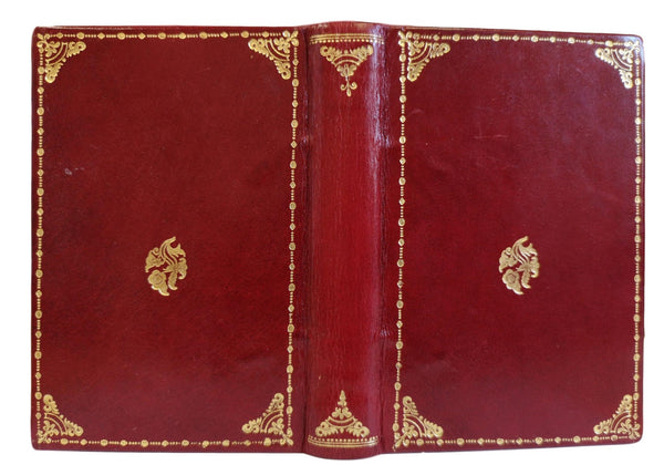 full leather properly made book