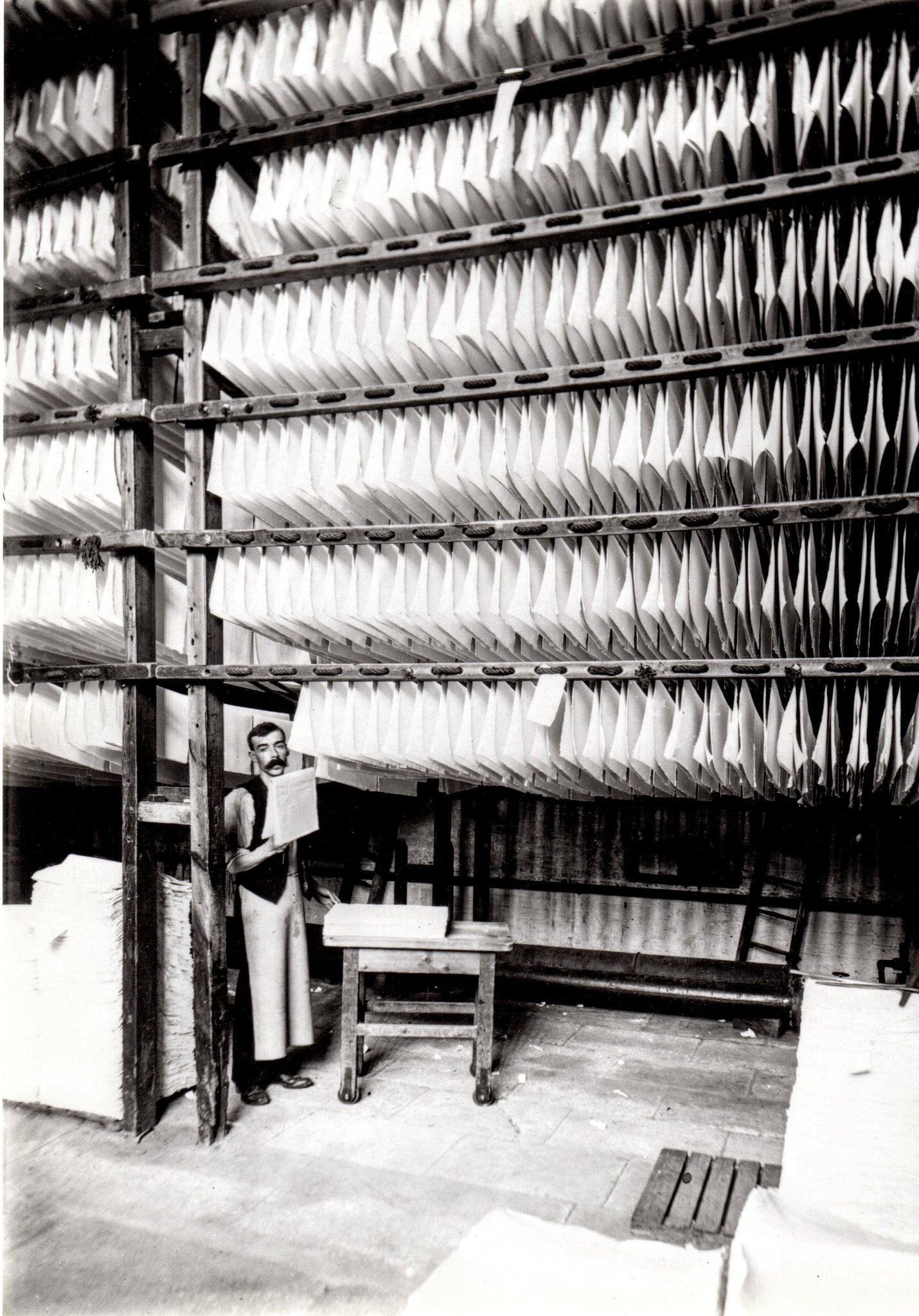Drying Paper at Whatman's Sprinfield Mill