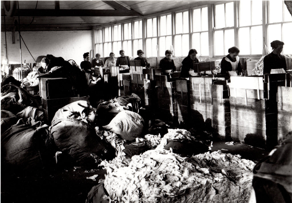 Rag Sorters at Whatman's Springfield Mill