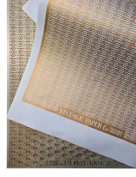 VPCo Press #4 Metallic Gold