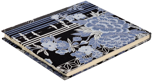 Large Japanese Cloth #1 Sketchbook (HP botanical handmade paper) FREE SHIPPING