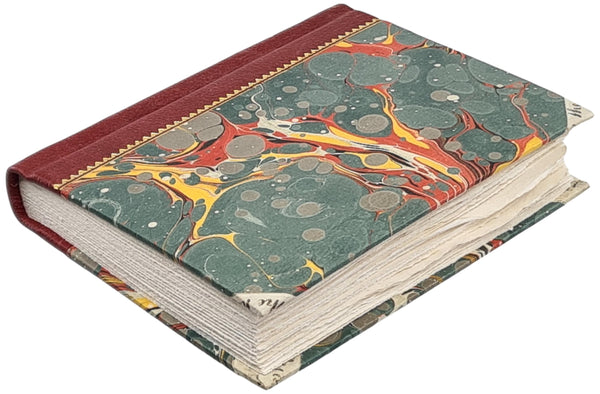 Chateau Vellum Marbled Binding #6