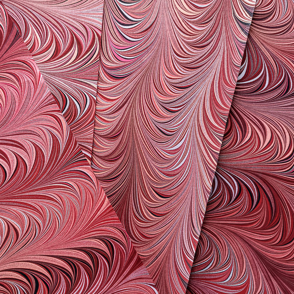 Renato Crepaldi Marbled Paper Sample Book