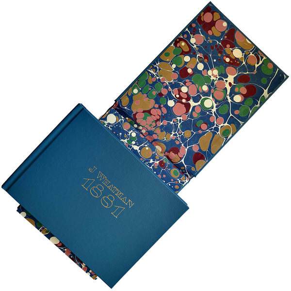 Traditional 1881 Buckram Sketchbooks - WSH Handmade Paper
