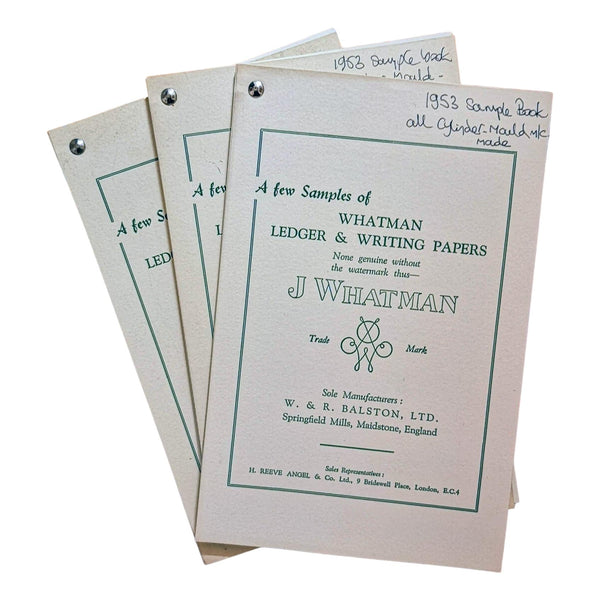 A J Whatman Sample Book