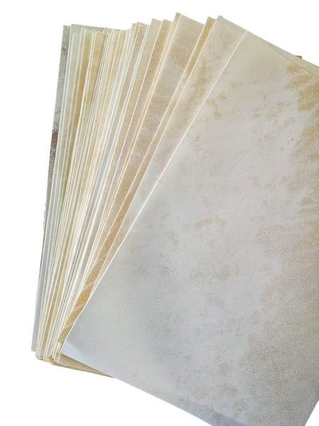 Calfskin Manuscript Vellum. Packs of A5 sheets - prepared for ink and watercolour