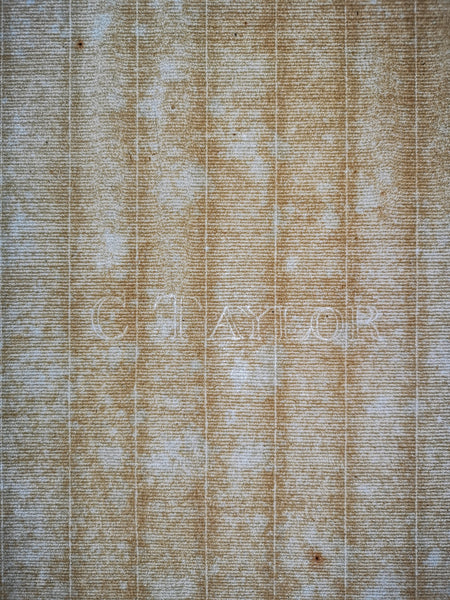 C Taylor watermarked handmade antique paper 1700s