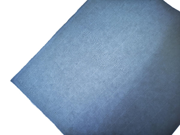 J Whatman - 1954 Mouldmade. Blue, Medium, Laid, 102gsm 30lb. 5 PACK