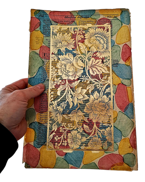 dutch gilt brocade paper