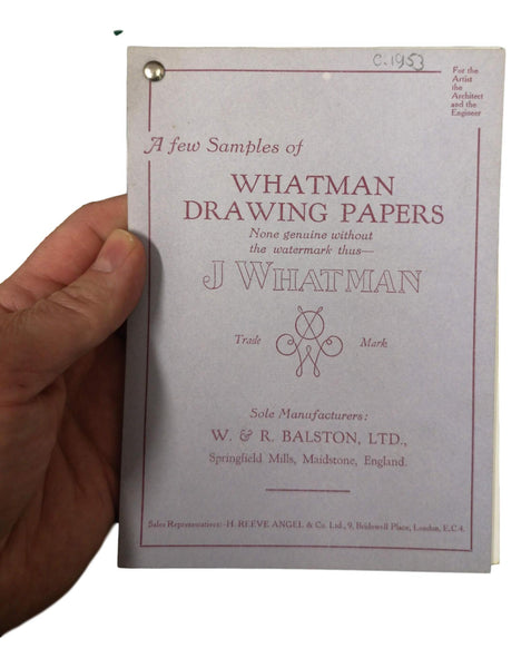 J Whatman Sample Archive