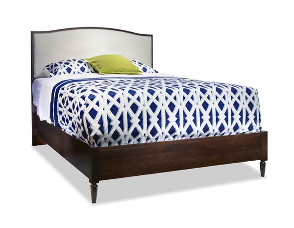 Solid Choices Collection - Upholstered Arch Top Bed