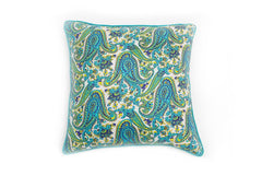 Princely Paisley Pillow, Paradise