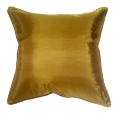 Turquoise Palace - Art Silk Pillow, Bronze