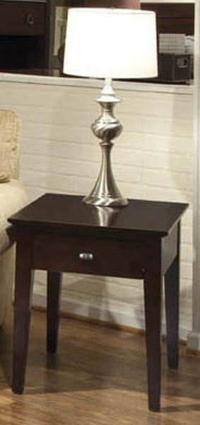 Solid Choices Collection - Metro Dwr End Table w/ Shelf