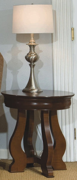 Solid Choices Collection - Louis Phillipe RD Lamp Table