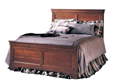 Chateau Fontaine Collection - Panel Bed w/ Low Footboard