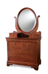 Chateau Fontaine Collection - Oval Dressing Mirror