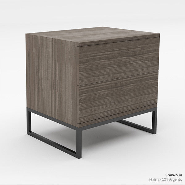 Fumo - Night Stand, Two Drawer