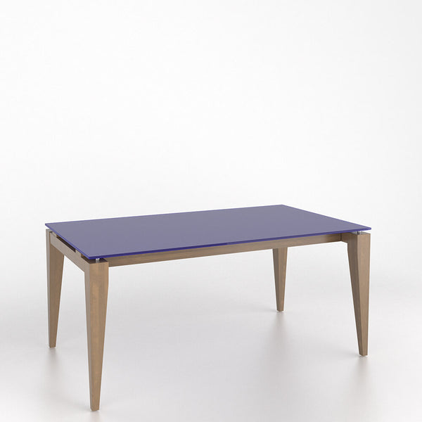 Canadel - Rectangular glass table with legs : GRE3866GQ