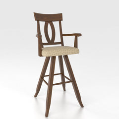 "Canadel - Swivel Barstool 30"" with arms : STO0100SA4Z-30"