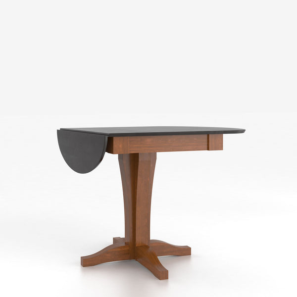 Canadel - Drop leaf table with pedestal : TDL4242XK-F