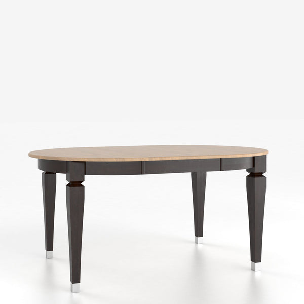 Canadel - Oval table with legs : TOV4262II-1