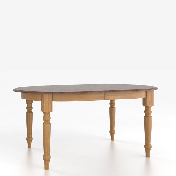 Canadel - Oval table with legs : TOV4868AA-F