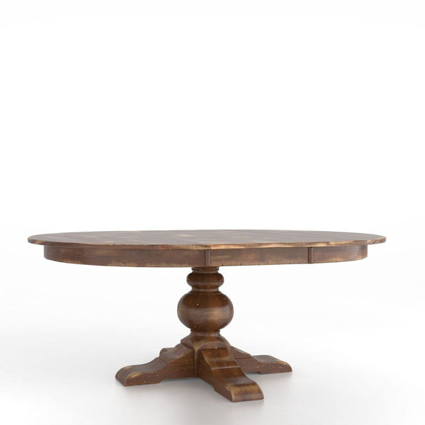 Canadel - Champlain Oval table with pedestal : TOV5474BT-F
