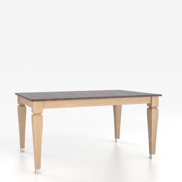 Canadel : Rectangular table with legs : TRE3868II-F