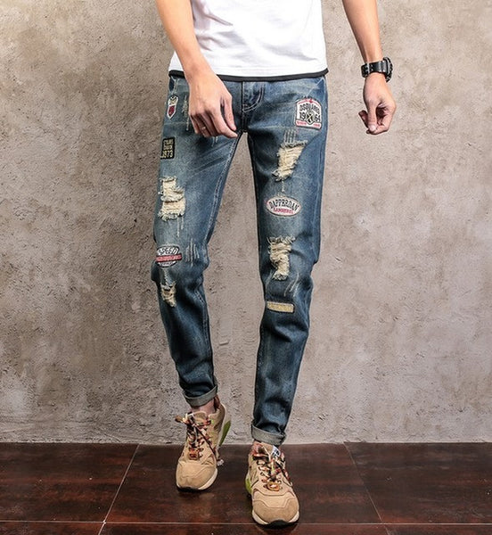 jeans male