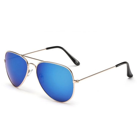 27069c7afe AVIANO Metal Gold with Blue Mirrored Tac Polarized Lenses - leatherro
