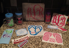 Decals (Car/Phone Stickers, Wall Designs and More!)