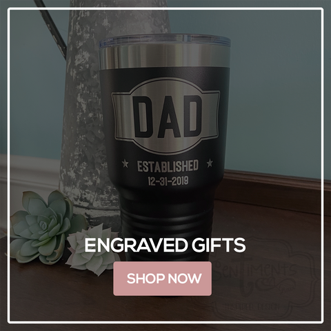 Laser Engraved Gifts Father's Day Dad Grandpa