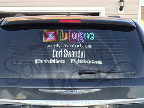 LuLaRoe Car Decal